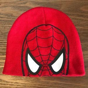 Marvel Spider-Man Red Winter Beanie Hat